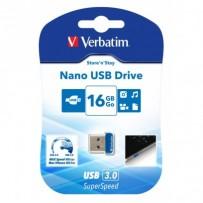 VERBATIM Store 'n' Stay NANO 16GB USB 3.0 černá