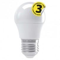 Emos LED žárovka MINI GLOBE, 4W/30W E27, NW neutrální bílá, 330 lm, Classic A+