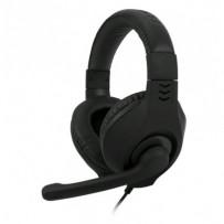 C-TECH herní sluchátka s mikrofonem Nemesis V2 (GHS-14U-B), USB,černé