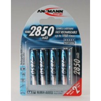 Ansmann akumulátor AA NiMH 2850 mAh (4 ks)