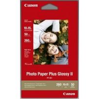 Canon fotopapír PP-201 - 10x15cm (4x6inch) - 265g/m2 - 50 listů - lesklý
