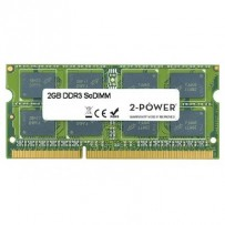 2-Power 2GB PC3-10600S 1333MHz DDR3 CL9 SoDIMM 1Rx8 (DOŽIVOTNÍ ZÁRUKA)
