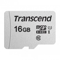 Transcend 16GB microSDHC 300S UHS-I U1 (Class 10) paměťová karta (bez adaptéru), 95MB/s R, 45MB/s W