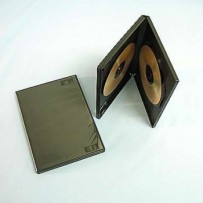 COVER IT Krabička na 2 DVD 14mm černý 10ks/bal