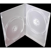 COVER IT Krabička na 2 DVD 14mm super čirý 10ks/bal