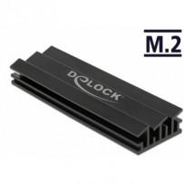 Delock Chladič 70 mm pro modul M.2 černý