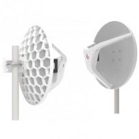 MikroTik LHGG-60ad, Wireless Wire Dish, 60GHz, L3, kompletní spoj