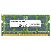 2-Power 8GB MultiSpeed 1066/1333/1600 MHz DDR3 SoDIMM 2Rx8 (1.5V / 1.35V) (DOŽIVOTNÍ ZÁRUKA)