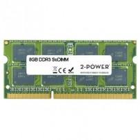 2-Power 8GB MultiSpeed 1066/1333/1600 MHz DDR3 SoDIMM 2Rx8 (1.5V / 1.35V) (DOŽIVOTNÍ ZÁRUKA)