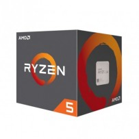 AMD cpu Ryzen 5 2600 Box AM4 (6core, 12x vlákno, 3.4GHz / 3.9GHz, 16MB cache, 65W), chladič Wraith Stealth