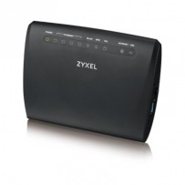 Zyxel VMG3312, VDSL2 profile 17a over POTS Gateway, GbE WAN, 4FE LAN, 1 USB 2.0, WiFi 11n 2.4GHz 300Mbps, EU+UK STD vers