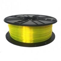 GEMBIRD Tisková struna (filament), PETG, 1,75mm, 1kg, žlutá