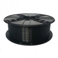 GEMBIRD Tisková struna (filament), PETG, 1,75mm, 1kg, černá