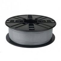 GEMBIRD Tisková struna (filament), PETG, 1,75mm, 1kg, šedá