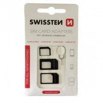 SWISSTEN SIM ADAPTER 4in1
