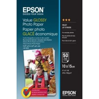 EPSON paper 10x15 - 183g/m2 - 100 sheets - value glossy photo paper