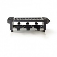Nedis FCRA110EBK6 - Gril Raclette | Pro 6 Lidí
