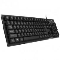 GENIUS Smart KB-102/ Drátová/ USB/ černá/ CZ+SK layout/ SmartGenius App