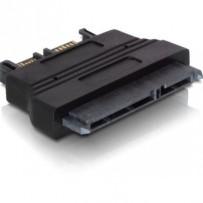 DeLock adaptér SATA 22pin samice -- Slim SATA 7+6pin samec