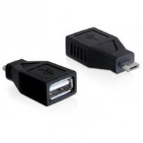 Delock redukce micro USB B samec na USB A samice