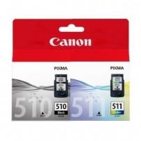 SAFEPRINT inkoust Canon PGI-525BK + CLI-526 MultiPack Plus | 2xBK + PBK + CMY | 2x21ml + 4x11ml