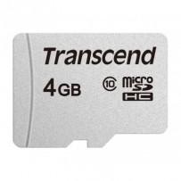 Transcend 4GB microSDHC 300S (Class 10) paměťová karta (bez adaptéru)
