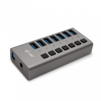 i-tec USB 3.0 Charging HUB 7 Port + Power Adapter 36 W