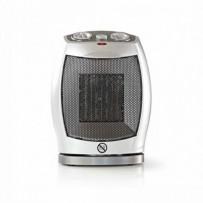 Nedis HTFA11CWT - Ventilátor s keramickým topným tělesem | 750 a 1500 W | Šedá barva