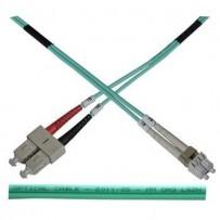 OPTIX LC-SC Optický patch cord 50/125 2m Duplex OM3