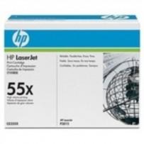 HP CE255X Toner 55X pro LJ P3015, M525, (12 000str), Black