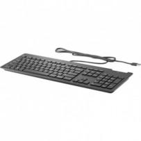 HP klávesnice slim SmartCard CCID USB, černá, SK