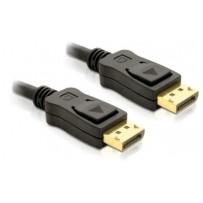 Delock kabel DisplayPort samec na Displayport samec, délka 2m