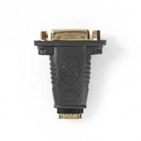 Nedis CVGB34911BK - HDMI™ – DVI Adaptér | HDMI Zásuvka - DVI-D 24+1-Pin Zásuvka | Černá barva