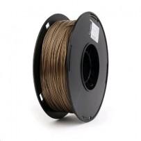 Tisková struna (filament) GEMBIRD, PLA PLUS, 1,75mm, 1kg, zlatá