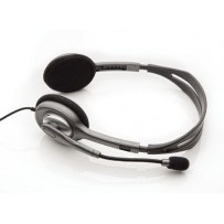 Logitech náhlavní souprava Headset H110, černé