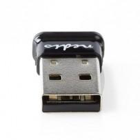 Nedis BLDO100V4BK - Bluetooth 4.0 Micro USB Přijímač/Vysílač | Včetně softwaru | USB