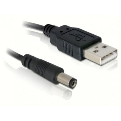 Napájecí kabel z USB portu na jack 5,4 mm