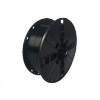 Tisková struna (filament) GEMBIRD, PLA PLUS, 1,75mm, 1kg, černá