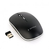 Myš GEMBIRD MUSW-4B-01, černá, bezdrátová, USB nano receiver