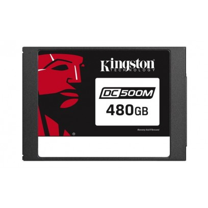 "Kingston Flash 480G DC500M (Mixed-Use) 2.5"" Enterprise SATA SSD"