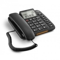 SIEMENS Gigaset DL380 - standardní telefon s displejem, barva černá