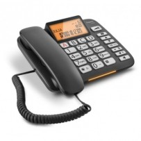 SIEMENS Gigaset DL580 - standardní telefon s displejem, barva černá