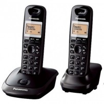 Panasonic KX-TG2512FXT, bezdrát. telefon, 2 sluchátka