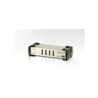 ATEN KVM switch CS-84U,USB Hub, 4PC