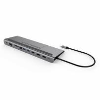 i-tec Thunderbolt3 / USB-C Dual DisplayPort 4K Docking Station, Power Delivery 85W