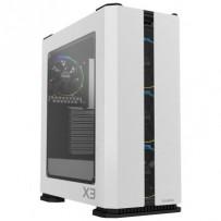 Zalman case X3 bílá , Skříň, Middle tower, bez zdroje, ATX, 2x USB 3.0, 2x USB 2.0, průhledná bočnice, ARGB ventilátory