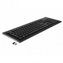 Delock USB klávesnice 2,4 GHz bezdrátová černá (Water-Drop)