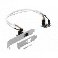 Delock Mini PCIe I/O PCIe half size 1 x Gigabit LAN Low Profile