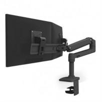 """ERGOTRON LX Desk Dual Direct Arm, matná černá , stolní rameno pro 2 monitry až 25"""""""