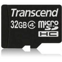 Transcend 32GB microSDHC (Class 4) paměťová karta (bez adaptéru)